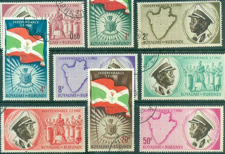 Марки независимой Бурунди