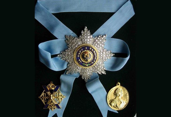 Орден Св. апостола Андрея Первозванного Российской Империи