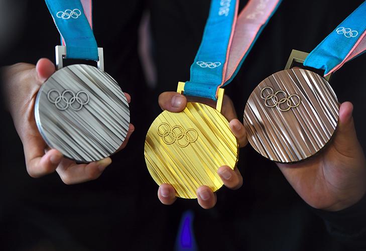 Олимпийские медали 2016 год