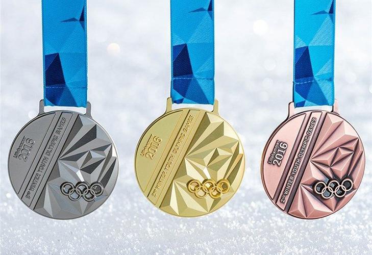 Золотая, серебряная и бронзовая олимпийские медали