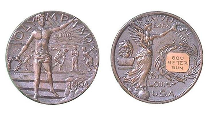 Олимпийские медали 1904 год