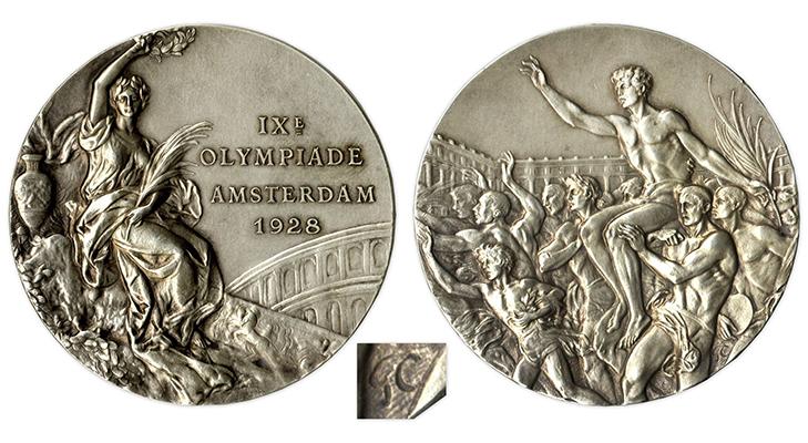 Олимпийские медали 1928 год