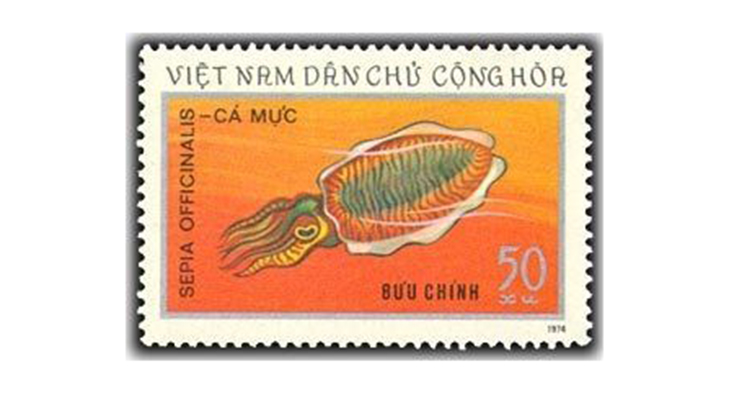 Вьетнамские марки о природе