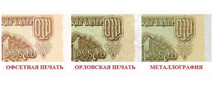 Способы печати банкнот