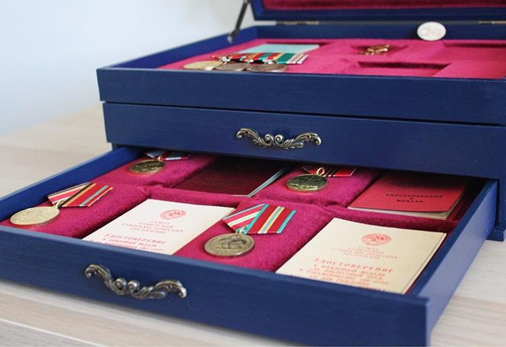 Способы укладки медалей и орденов