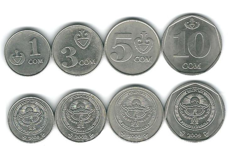 Монеты Киргизии