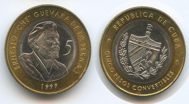 5 песо 1999 года