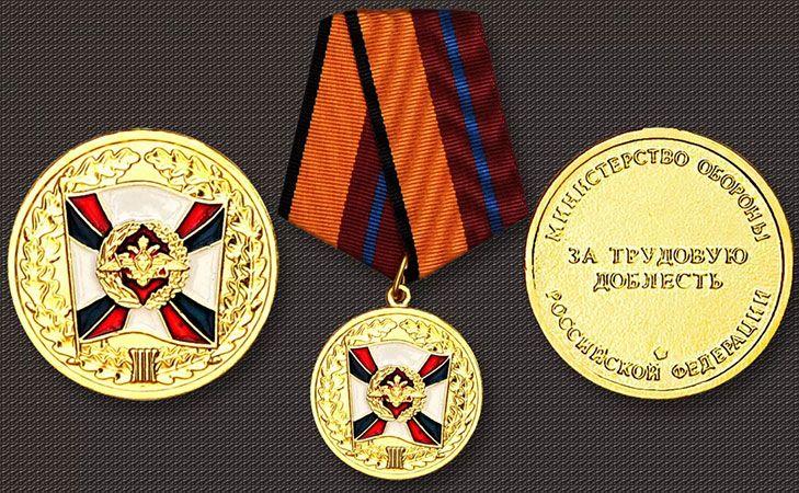 Внешний вид медали России