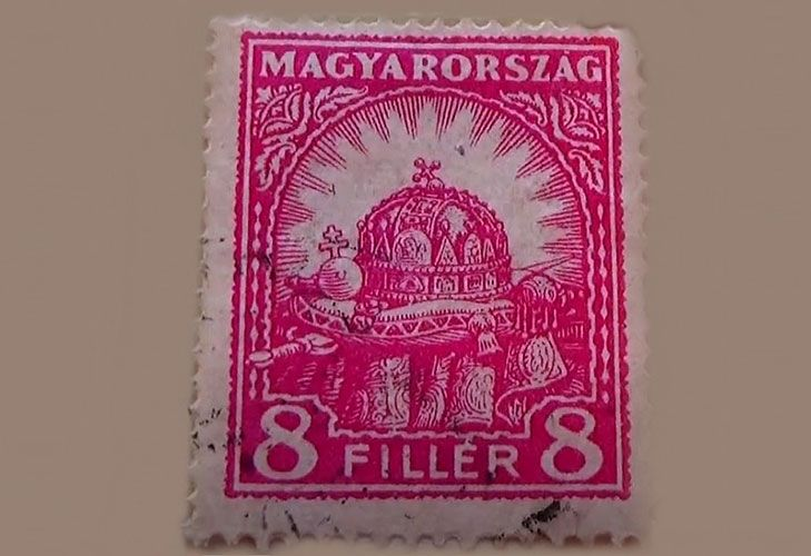 Редкие марки Венгрии