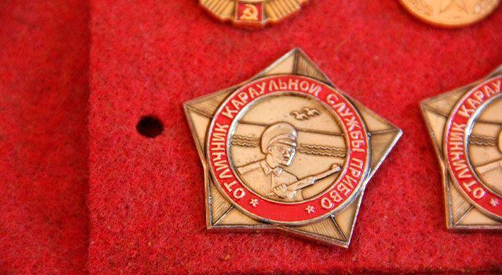 Отличник караульной службы ПрибВО