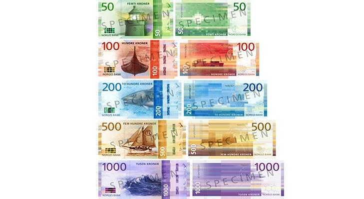 Современные банкноты Норвегии