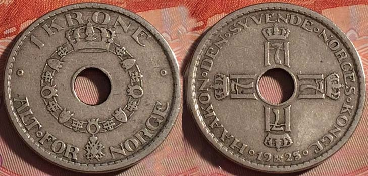 1 крона 1925 года