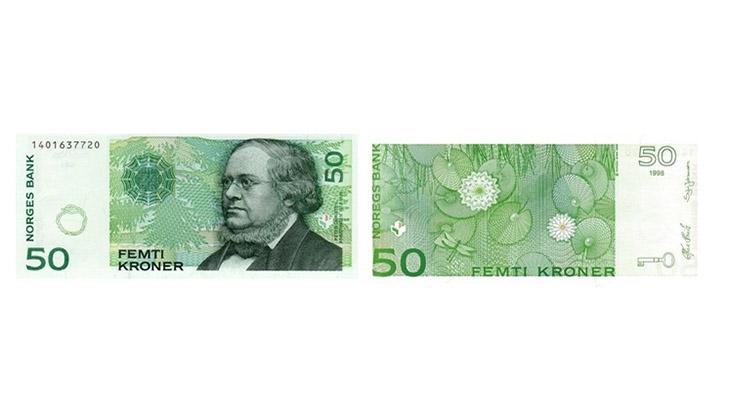 50 крон Норвегии