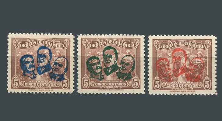 Кубинская марка со Сталиным