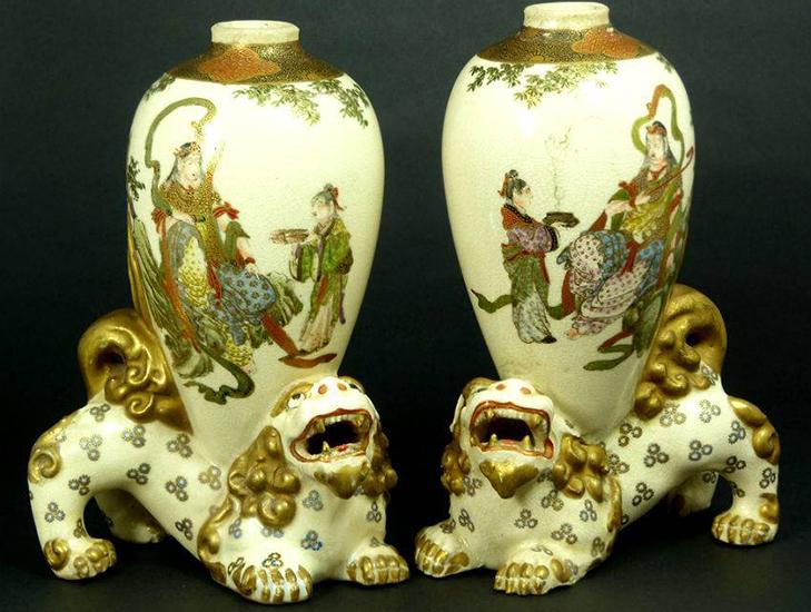 Старинные китайские вазы