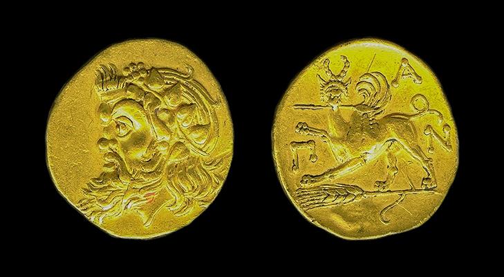 Редкая монета Пантикапея