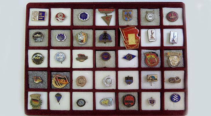 Коллекция значков ГДР