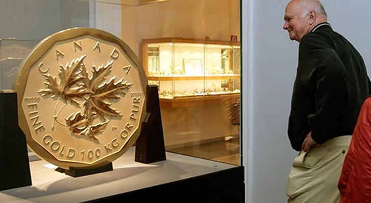 Монета из 100 кг золота