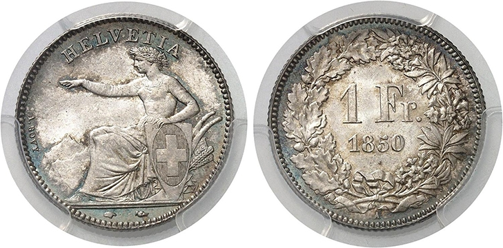Первые швейцарские деньги