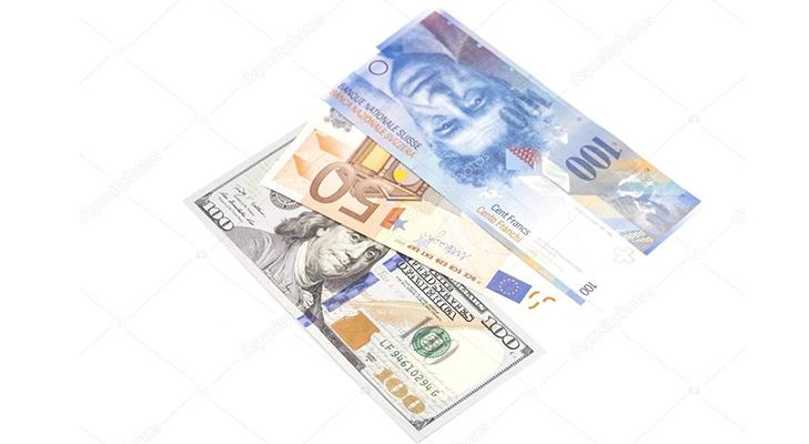 Франки, доллары и евро