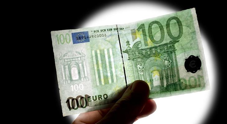 Купюра 100 евро