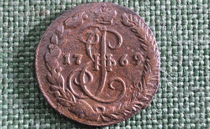 Медные деньги 1769 года