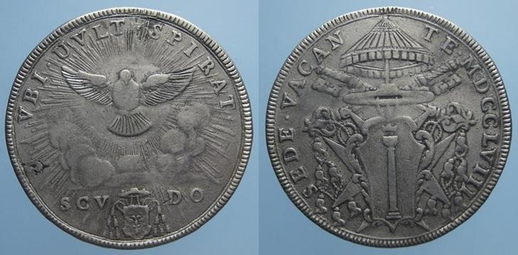 Монета 1 скудо