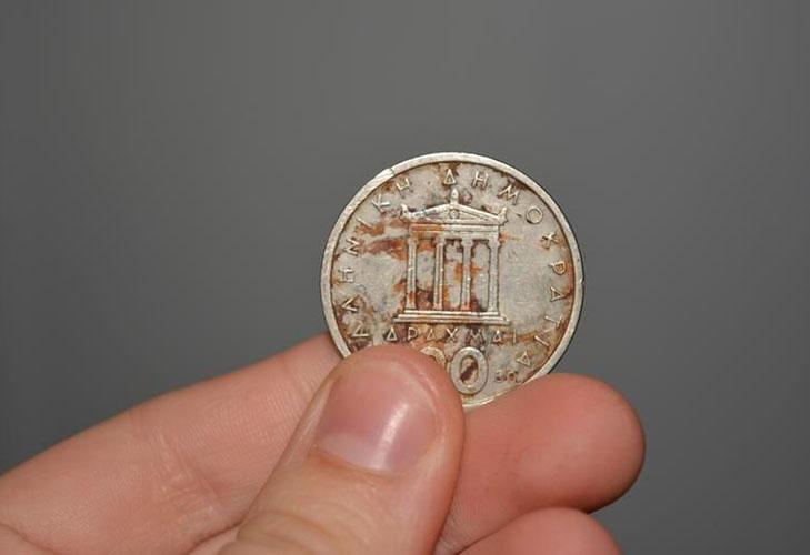 Ржавчина на монетах